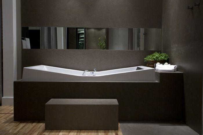 Banho com design em ambiente contemporâneo