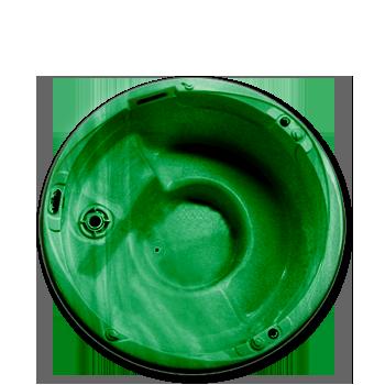 Verde Marmorizado