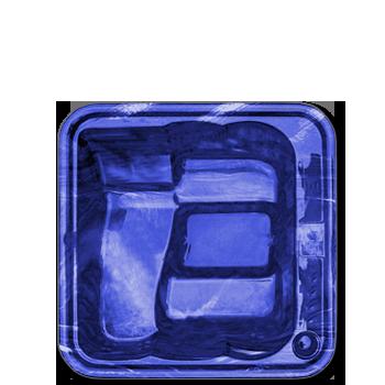Azul Marmorizado
