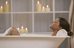Melhore a qualidade do sono através do banho!