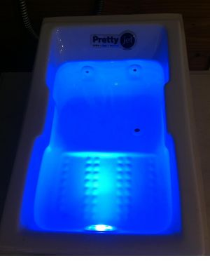 O uso das cores na hidroterapia: ANIL!