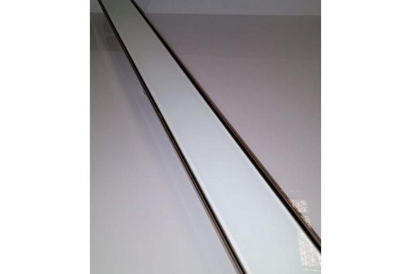 Ralo In Line - Vidro Temperado Branco